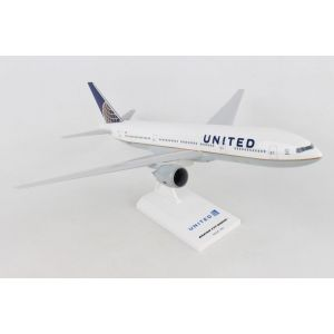 SKYMARKS UNITED 777-200 1/200 POST CO MERGER LIVERY