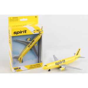 SPIRIT AIRLINES DIE CAST AIRPLANE