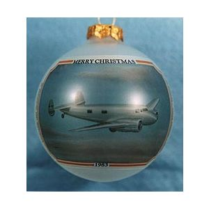 Amelia Earhart Ornament