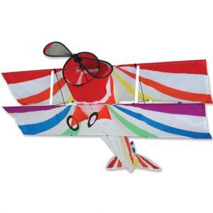 Rainbow Bi-Plane Kite