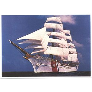 Coast Guard Eagle card