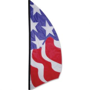 Patriotic 8.5 ft Feather Banner