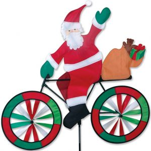 Santa - 30in Bike Spinner