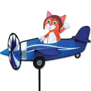 19 in. Pilot Pal Spinner - Orange Cat
