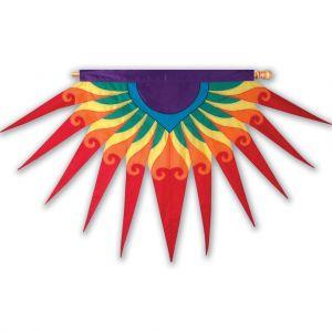 Red Sunburst Progressive Banner