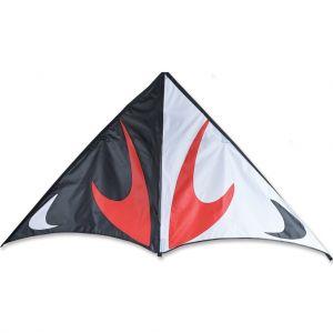 80 in. Travel Delta Kite - Red & Black