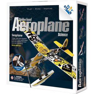 PLAYSTEAM Rubber Band Aeroplane Seaplane STEM Kit