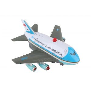 AIR FORCE ONE PULLBACK W/LIGHT & SOUND