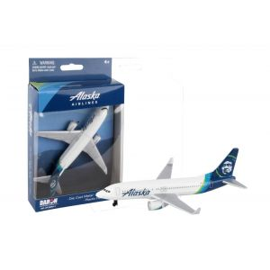 ALASKA AIRLINES DIE CAST PLANE NEW LIVERY