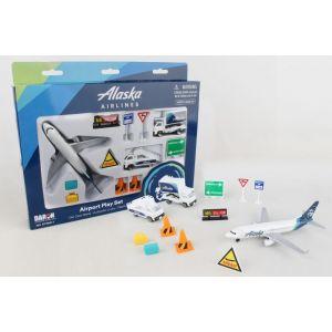 ALASKA AIRLINES AIRPORT PLAY SET