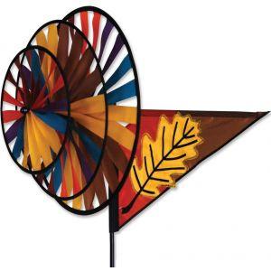 Fall Leaf - Triple Spinner
