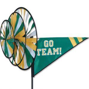Green/Yellow Go Team - Triple Spinner