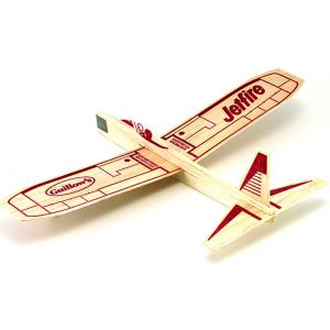 Jetfire - Balsa Wood Toy Plane