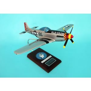 P-51D MUSTANG SILVER OLD CROW 1/24