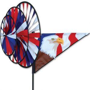 Patriotic Eagle - Triple Spinner