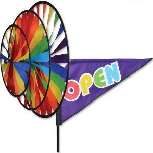 Rainbow Open - Triple Spinner