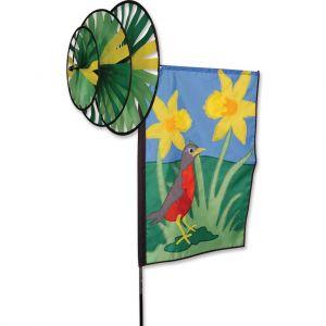 Robin - Triple Spinner Banner