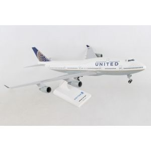 SKYMARKS UNITED 747-400 1/200 W/GEAR POST CO MERGER