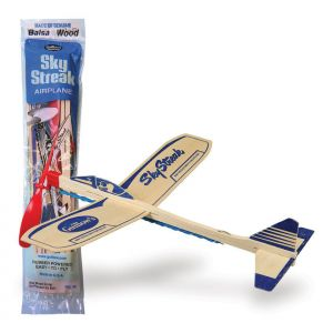 SkyStreak - Balsa Wood Toy Plane