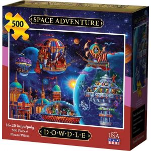 SPACE ADVENTURE - TRADITIONAL PUZZLE