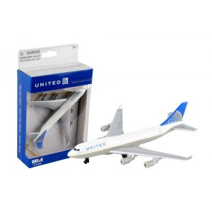 UNITED 747 DIE CAST PLANE